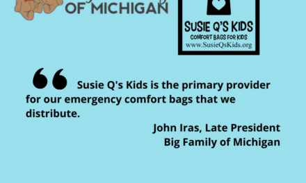 Big Family of Michigan Uses Susie Q's Kids to Spread Happiness