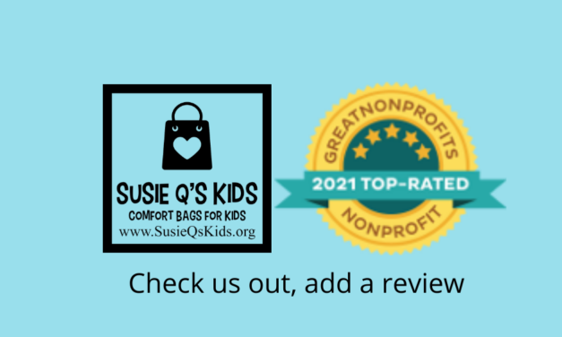 Susie Q's Kids Selected as a 2021 Great Nonprofit
