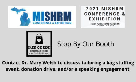 MISHRM Conference in Grand Rapids- Stop By Our Booth- Susie Q's Kids
