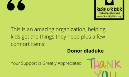 Review Dani – Great Nonprofits and Susie Q's Kids