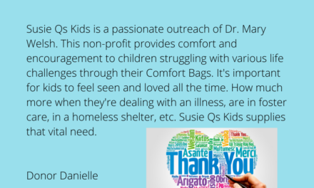 Review Danielle – Great Nonprofits and Susie Q's Kids