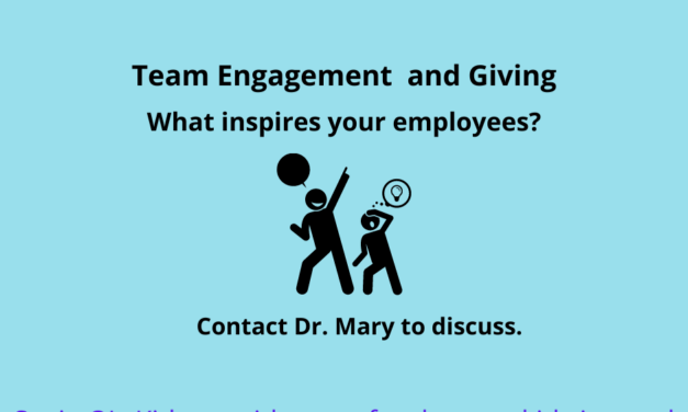 How does employee engagement and giving affect your operations and employees?